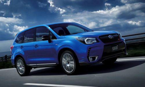 STI reveals 206kW Subaru Forsester tS, Japan only