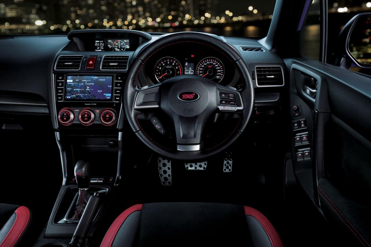 Subaru Aftermarket Parts >> STI reveals 206kW Subaru Forsester tS, Japan only ...
