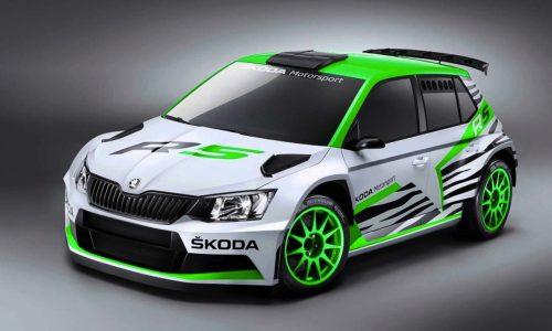 Skoda Fabia R5 concept previews 2015 WRC 2 rally car