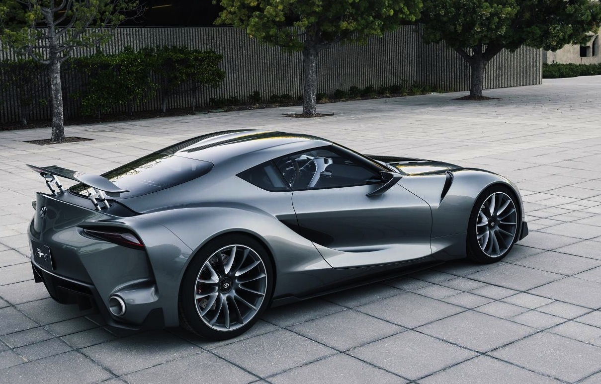 Perfect Toyota FT 1 Concept