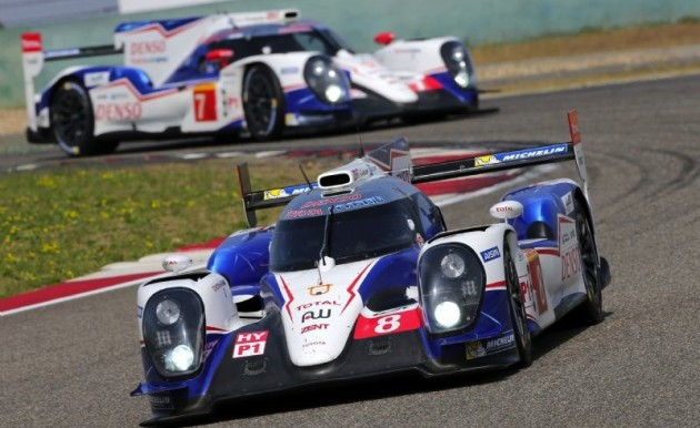 Toyota TS040 racing car