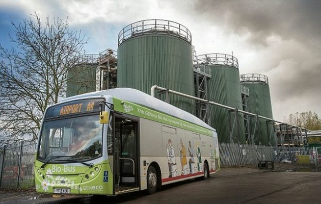 UK bio-bus runs on poo