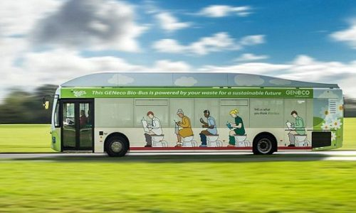 UK bus company introduces poo-powered 'Bio-Bus'