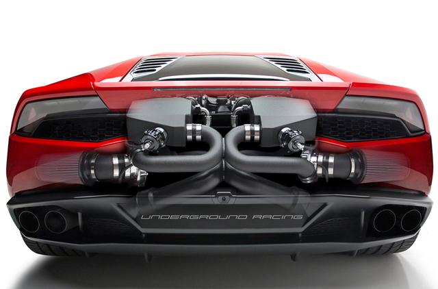 Underground Racing Plans Twin Turbo Kit For Lamborghini