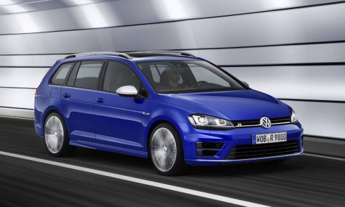 Volkswagen Golf R Variant wagon revealed