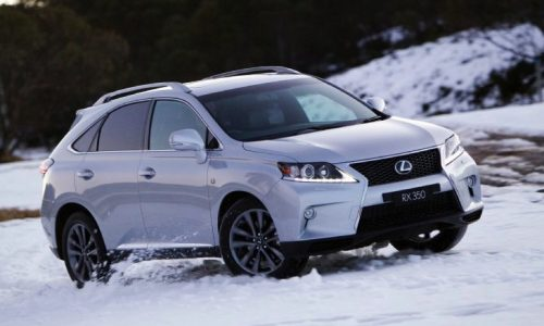 New 2016 Lexus RX to be revealed at Detroit show – report