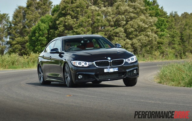 2014 BMW 435i Gran Coupe-drift