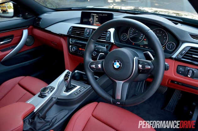2014 BMW 435i Gran Coupe-interior
