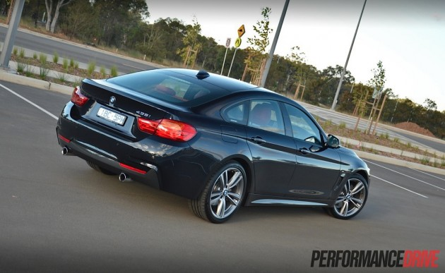 2014 BMW 435i Gran Coupe-rear