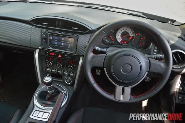 2014 Toyota 86 GTS-dash