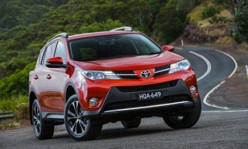 Toyota RAV4 celebrates 20th anniversary, special colours announced
