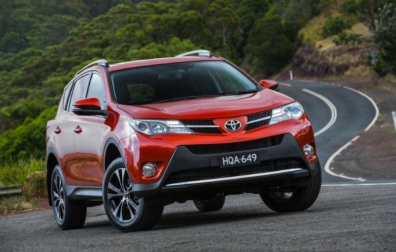Toyota Rav4 Celebrates 20th Anniversary Special Colours