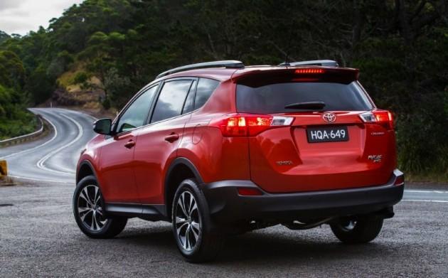2014 Toyota RAV4-rear