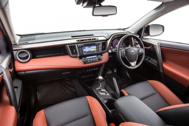 2014 Toyota RAV4-terracotta interior