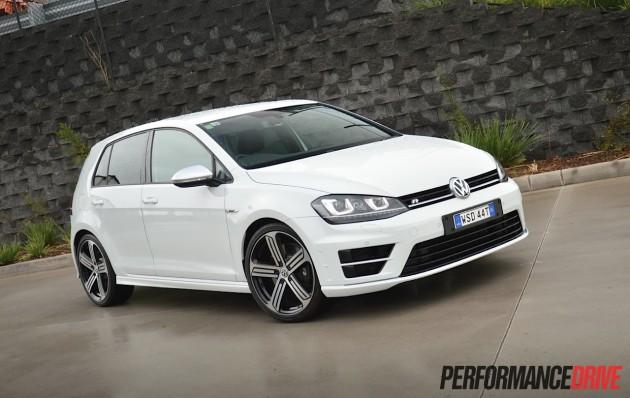 2014 Volkswagen Golf R-Pure White