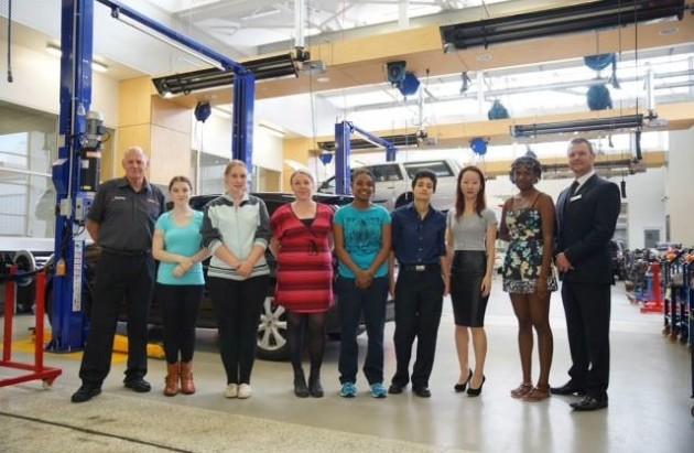 2014 Women in Auto Trades-TAFE