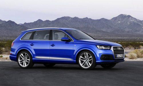 2015 Audi Q7 officially unveiled, 275kW e-tron hybrid flagship