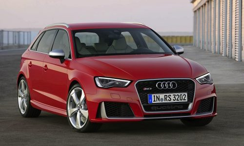 2015 Audi RS 3 Sportback becomes quickest, most powerful hatch ever