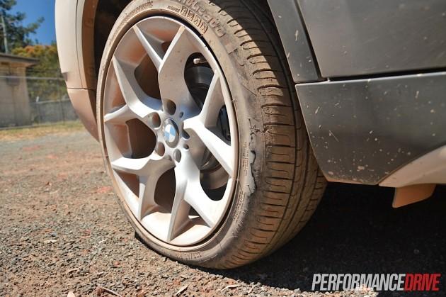 2015 BMW X1 sDrive20i-runflat tyre