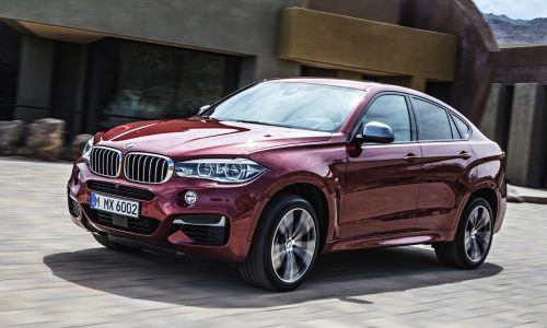 2015 BMW X6 on sale in Australia from $115,400