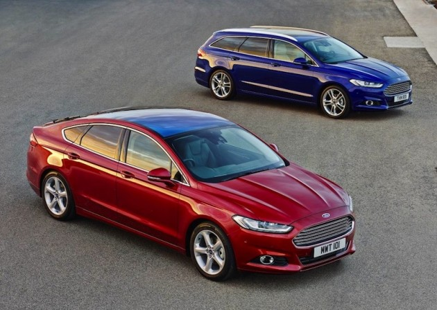 2015 Ford Mondeo front