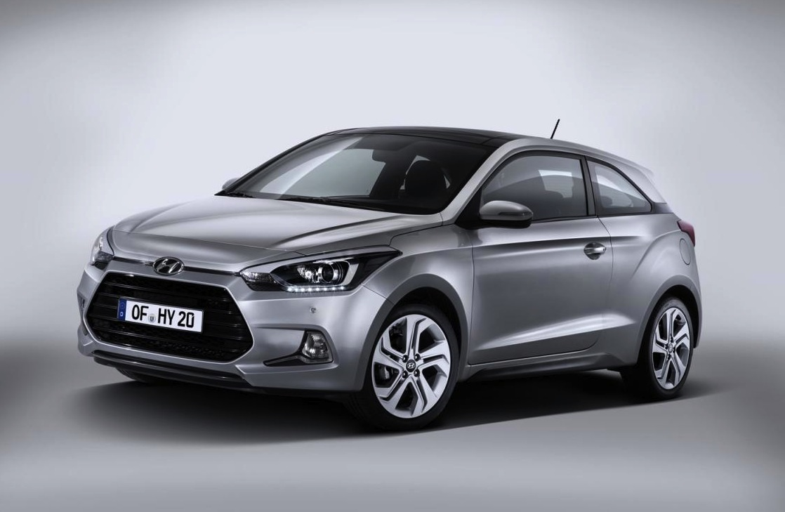 hyundai i20 coupe revealed new sporty compact. Black Bedroom Furniture Sets. Home Design Ideas