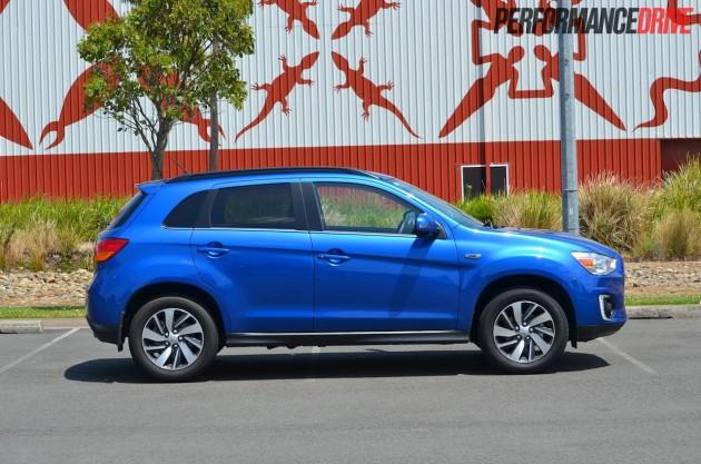 2015 Mitsubishi ASX LS 2WD side
