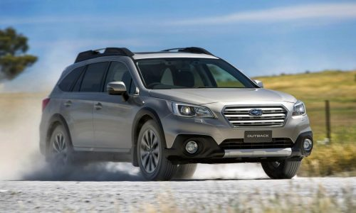 2015 Subaru Outback on sale in Australia from $35,990