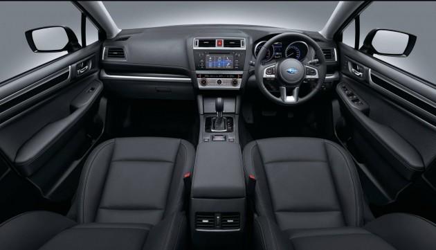 2015 Subaru Outback 3.6R-interior