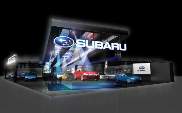 2015 Subaru Tokyo Auto Salon preview
