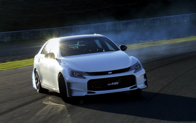 2015 Toyota Mark X GRMN edition-drift