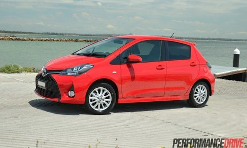 2015 Toyota Yaris ZR review (video)