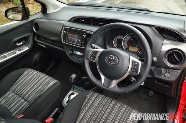 2015 Toyota Yaris ZR-interior