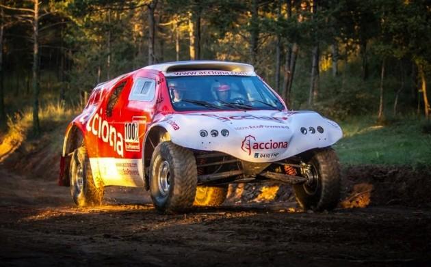 ACCIONA EcoPowered Dakar rally