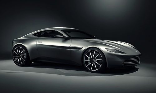 Aston Martin DB10 created for Spectre, James Bond film