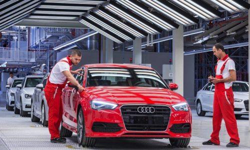Ruble drop; Audi, Jaguar Land Rover, GM stop selling cars in Russia