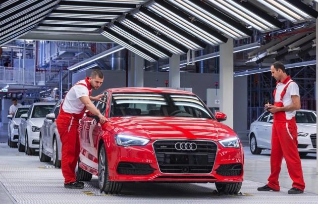 Audi A3 production
