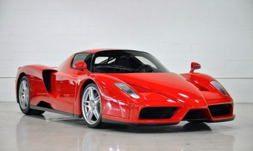 For Sale: 2003 Ferrari Enzo with just 570km on the clock