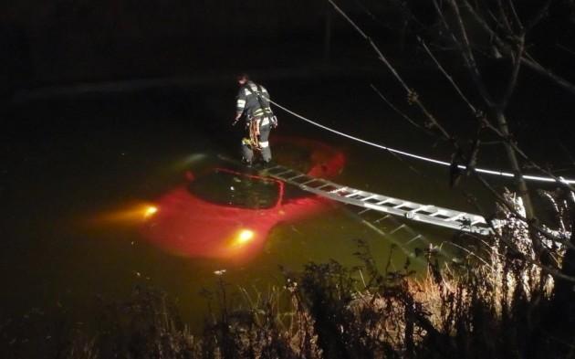 Ferrari F430 crash lake Austria