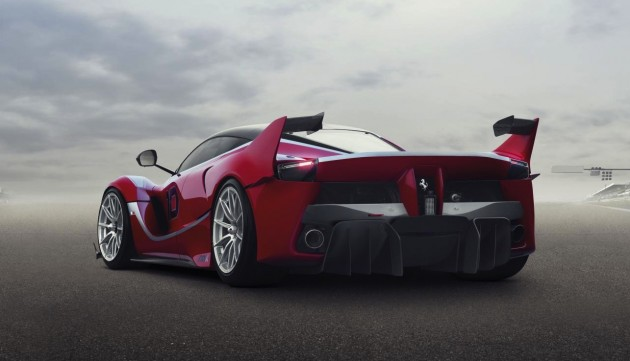 Ferrari LaFerrari FXX K-rear diffuser