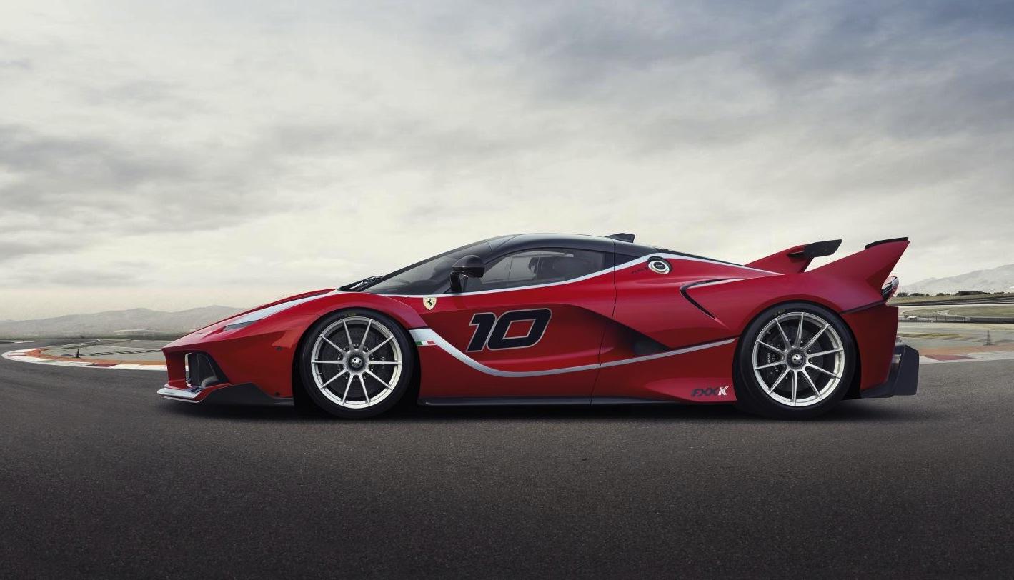 Ferrari Laferrari Fxx K Revealed Insane 1050hp Hybrid