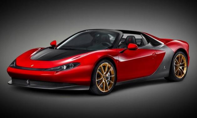 Ferrari Sergio-production model