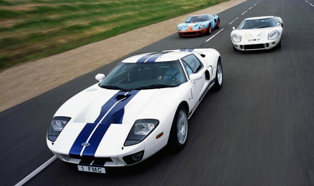 Ford GT lineup