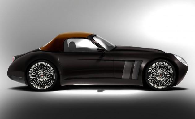 Gregis Automobili Miranda Roadster-side