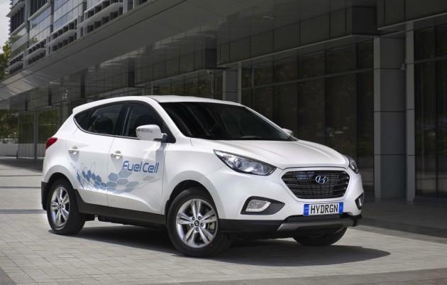 Hyundai ix35 Fuel Cell in Australia