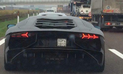 Lamborghini Aventador Super Veloce (SV) spotted in Italy