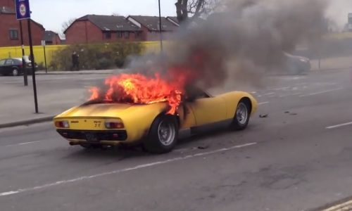 Lamborghini Miura owner sues workshop after car catches fire