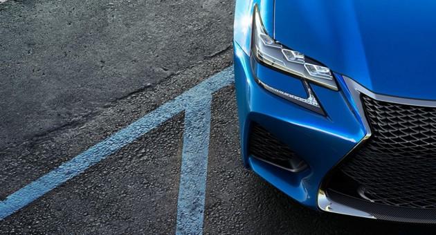 Lexus GS F headlights maybe