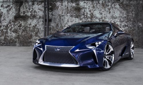 Lexus trademarks 'LC 500' & 'LC 500h', based on LF-LC concept?