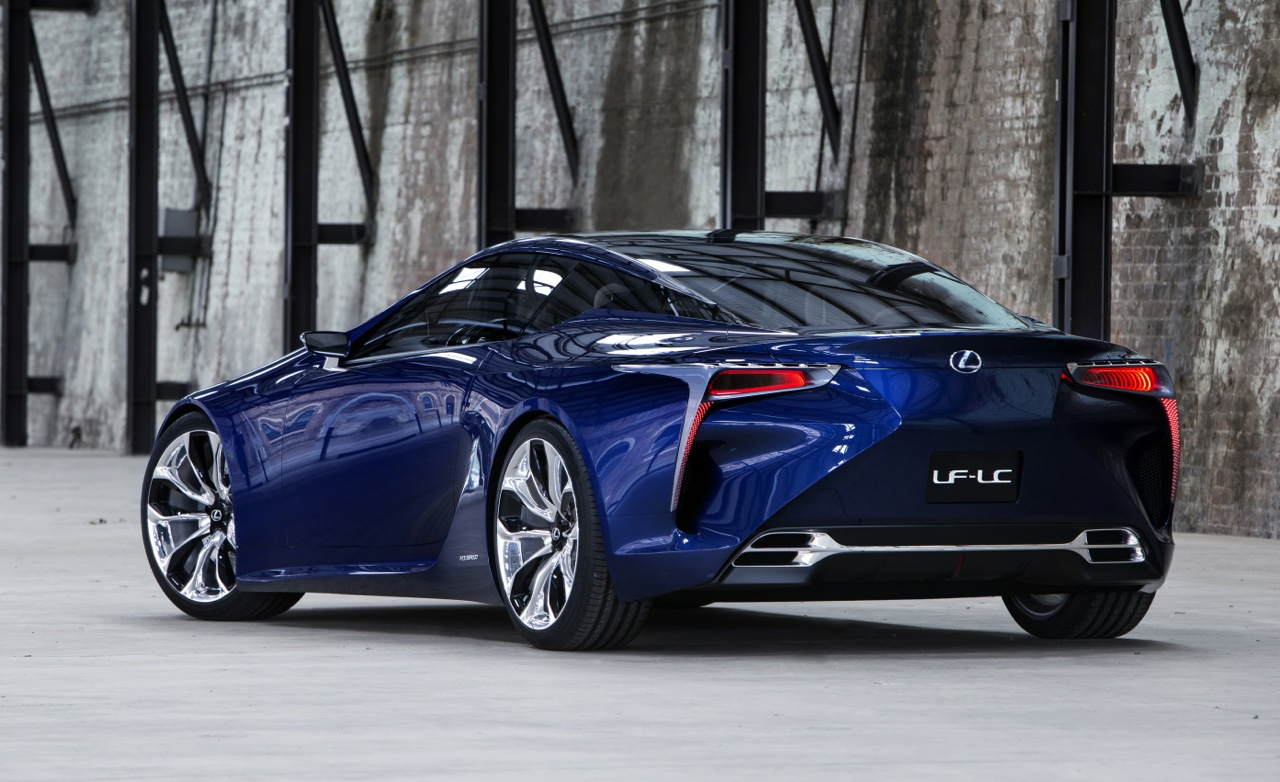 Lexus LC Convertible Reportedly Coming Within The Next Two